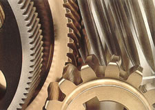 Gears from small to large and in quantities up to 100,000 units..