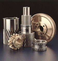 Precision ground spur and helical gears from Insco Corporation.