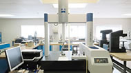 Environmentally controlled inspection lab at INSCO Corporation